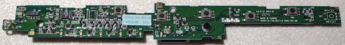 HP PAVILION N5270 N5470 XH365 POWER SWITCH BOARD LS-736