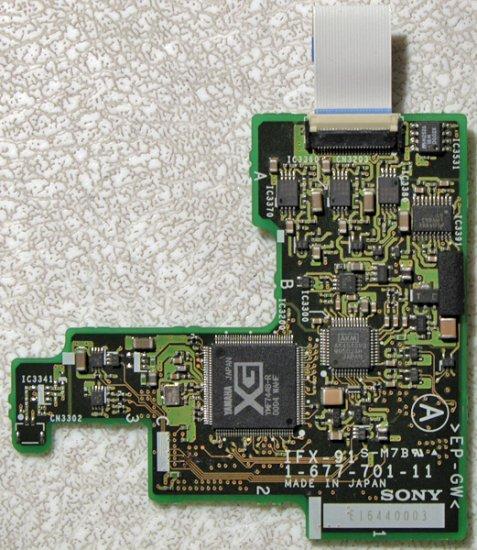 OEM SONY VAIO PCG Z505HS Z505JS Z505 AUDIO BOARD IFX-91 W/ CABLE
