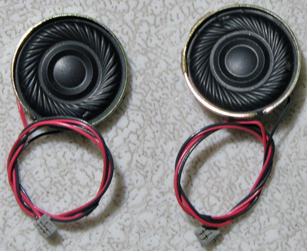 SONY VAIO PCG-Z505HS Z505JS Z505 SPEAKERS SET LEFT & RIGHT