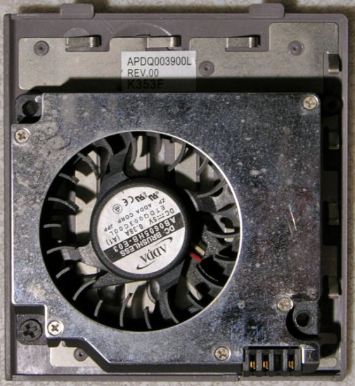 DELL INSPIRON 8500 8600 M60 CPU FAN AB0605HB-E03 APDQ003900L