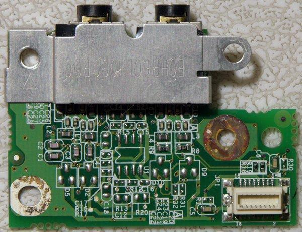 HP PAVILION ZX5000 ZV5000 AUDIO JACK SUB BOARD LS-1812