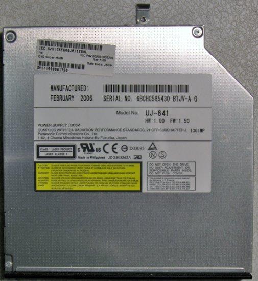 TOSHIBA SATELLITE A100 A105 DVD+/-RW CDRW DRIVE UJ-841 V000061750