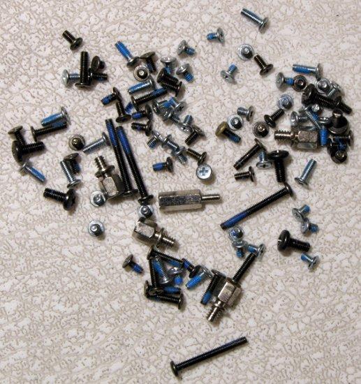 GENUINE OEM SONY VAIO PCG K15 K23 K25 K33 COMPLETE SCREW SCREWS SET