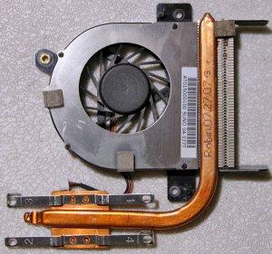 TOSHIBA SATELLITE A135 CPU HEATSINK & FAN DFS451205M10T