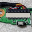 HP PAVILION DV6000 SERIES AUDIO SOUND BOARD DA0AT8AB8F9 REV: F w/ CABLE