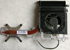 HP PAVILION DV9000 DV9500 AMD CPU HEATSINK & COOLING FAN 438606-001