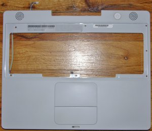 "APPLE MAC iBOOK G4 1.2"" 1.33GHz PALMREST TOUCHPAD SPEAKER"