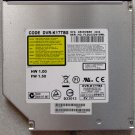 TOSHIBA SATELLITE A135 A130 DVD+/-RW CDRW DRIVE DVR-K17BS K000045550