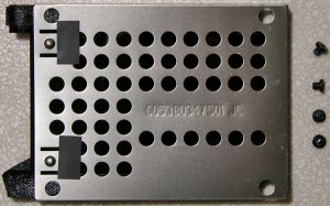 TOSHIBA SATELLITE L300 L305 L305D HD HARD DRIVE CADDY w/ SCREWS