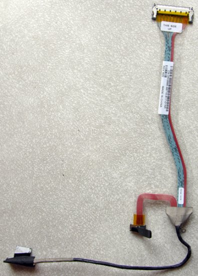 "DELL INSPIRON E1705 9400 17"" LCD CABLE RG688 / 0RG688 DC020009V0L"