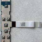 TOSHIBA SATELLITE A135 POWER SWITCH MEDIA BOARD LS-3392 w/ CABLE