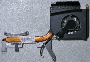 HP DV6000 INTEL CPU HEATSINK & COOLING FAN 434985-001