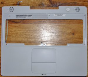 "APPLE iBOOK G4 12"" 1.33GHz PALMREST TOUCHPAD SPEAKER"