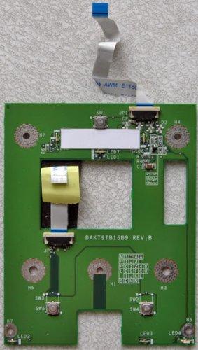 HP ze5300 COMPAQ 2500 nx9010 MOUSE TOUCHPAD DAKT9TB16B9