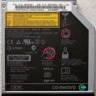 IBM THINKPAD LENOVO T40 T41 T43 R50 T60 DVD CDRW DRIVE 92P6581 UJDA745