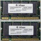 HP ZE4500 COMPAQ PRESARIO R3000 512MB DDR RAM PC2700 350236-001