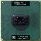 HP PAVILION DV1000 INTEL PENTIUM M 1.73GHz CPU SL7SA