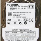 DELL TOSHIBA 80GB LAPTOP HD HDD HARD DRIVE 2.5&quot; SATA WT149 / 0WT149
