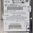 "FUJITSU GATEWAY MX3231 60GB HD HARD DRIVE 2.5"" 9.5MM MHV2060AT"