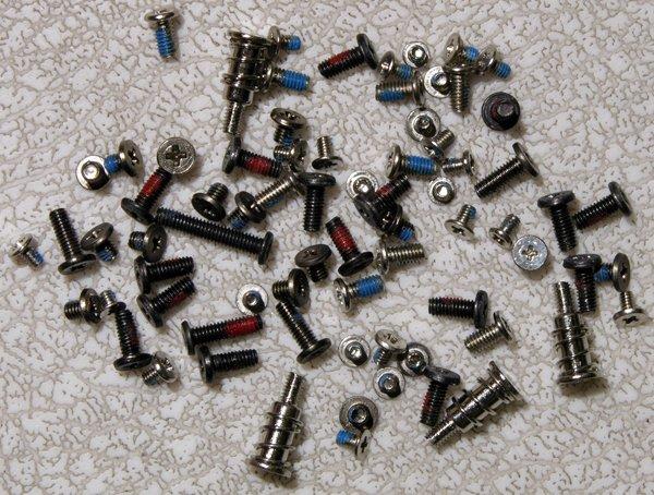 GATEWAY MA3 MA2 MX3231 MX3230 COMPLETE SCREW SCREWS SET