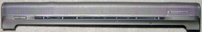 HP PAVILION DV6000 SPECIAL EDITION MEDIA BUTTON CONTROL BOARD W/ SPEAKERS 437592-001