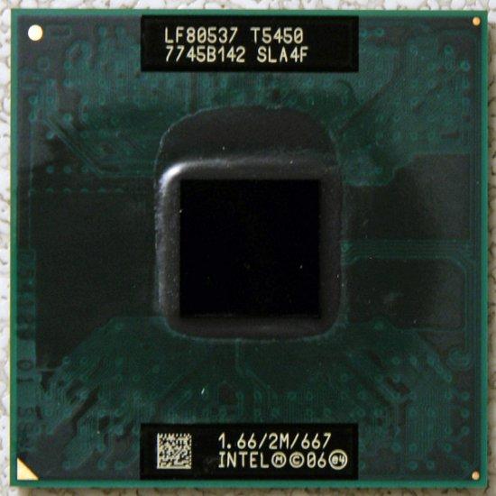 HP PAVILION DV6000 SERIES INTEL CORE 2 DUO 1.66GHz CPU T5450 SLA4F