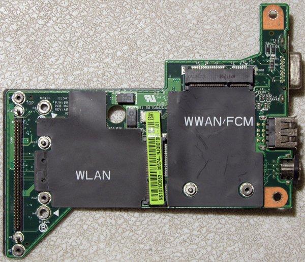 DELL INSPIRON 1420 1400 USB / S VIDEO / VGA OUT BOARD 8G20EA0500GDE