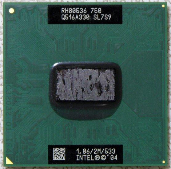 OEM IBM THINKPAD LENOVO T43 INTEL CENTRINO M CPU 1.89GHz SL7S9 39T0047