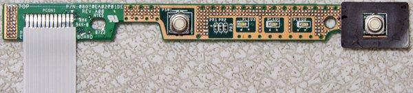 OEM DELL 1420 POWER BUTTON SWITCH BOARD 08G20EA02001DE