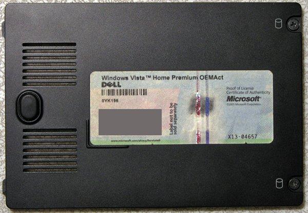 OEM DELL INSPIRON 1420 HDD HARD DRIVE COVER NR439 / 13GNJQ1AP120-1 DE w/ COA