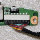 HP PAVILION DV6000 SERIES AUDIO SOUND BOARD DA0AT8AB8F9 / DA0AT3AB8D0 REV D w/ CABLE
