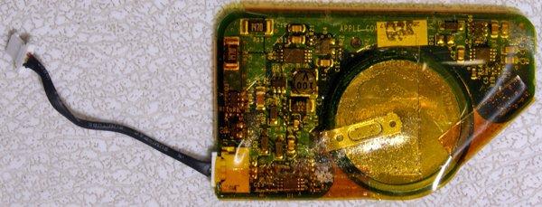 APPLE MAC POWERBOOK G4 A1095 BACKUP PRAM BATTERY 820-1603-A