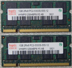 HP PAVILION DV2000 DV6000 DV9000 2GB LAPTOP RAM 417055-001