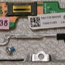 GENUINE OEM HP PAVILION TX1000 SERIES FINGER PRINT SCANNER ASSEMBLY 441121 / 3NTT8FB0002