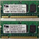 HP PAVILION DV2000 DV6000 DV9000 1GB LAPTOP RAM 446494-001