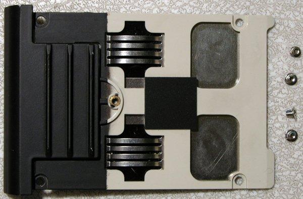 ALIENWARE M9700i M9700 HD HARD DRIVE CADDY w/ 4 SCREWS