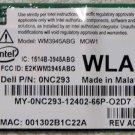 DELL LATITUDE D620 D630 E1705 1520 XPS M1210 ABG WIRELESS WIFI CARD NC293 / 0NC293