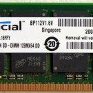 COMPAQ PRESARIO V5000 DV8000 1GB RAM PC3200 DDR MT16VDDF12864HY