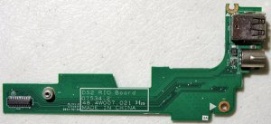 DELL INSPIRON 1525 1526 S VIDEO DUEL USB SIM CARD RIO BOARD 48.4W007.021
