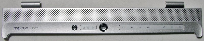 DELL INSPIRON 1525 LCD HINGE POWER BUTTON COVER F706H / 0F706H