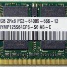 HYNIX HP PAVILION DV4 2GB RAM PC2-6400S 482169 HYMP125S64CP8