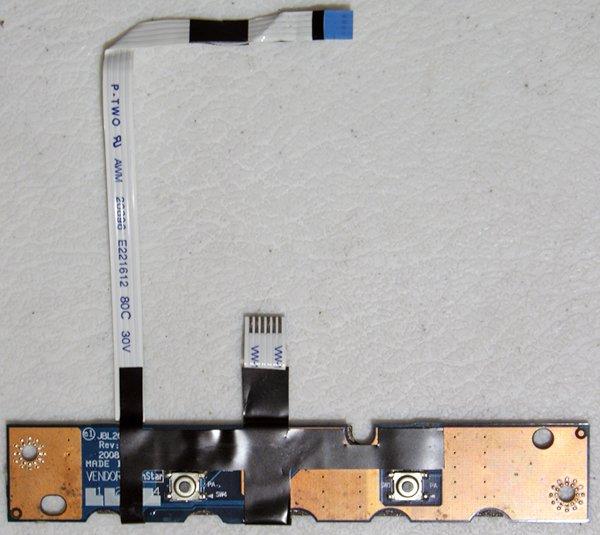HP PAVILION DV4 SERIES MOUSE BOTTONS w/ CABLES LS-4104P / 495662