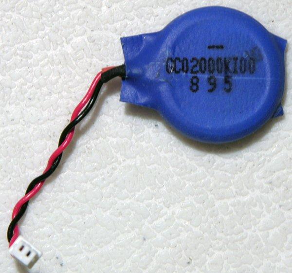 OEM HP PAVILION DV4 DV4T BIOS CMOS BATTERY GC02000KI00