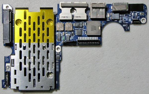 "GENUINE OEM APPLE MACBOOK PRO 15"" USB AUDIO IO DC JACK BOARD A1260 820-2273-A"
