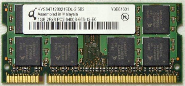 HP PAVILION DV4 LAPTOP 1GB RAM PC2-6400S 482168 HYS64T128021EDL