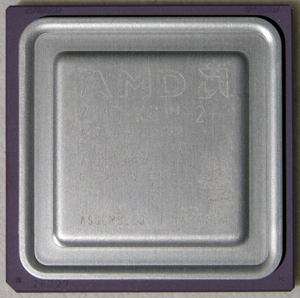 COMPAQ 1200 LAPTOP CPU AMD-K6-2+ 533ACZ 2.0V CORE 3.3V