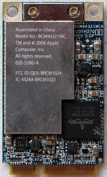 """MACBOOK PRO 13"""" 15"""" PCI WIFI CARD 020-5280-A 607-1389-A"""