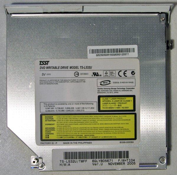 OEM SONY VAIO VGN-FE FE590P FE855E DVDRW DRIVE TS-L532U