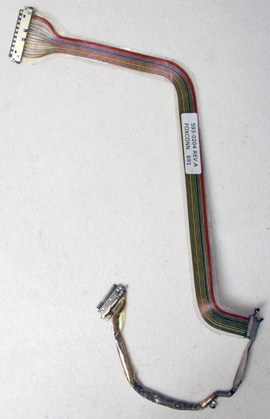 "GENUINE APPLE OEM MACBOOK PRO A1150 15"" LCD CABLE 593-0204"