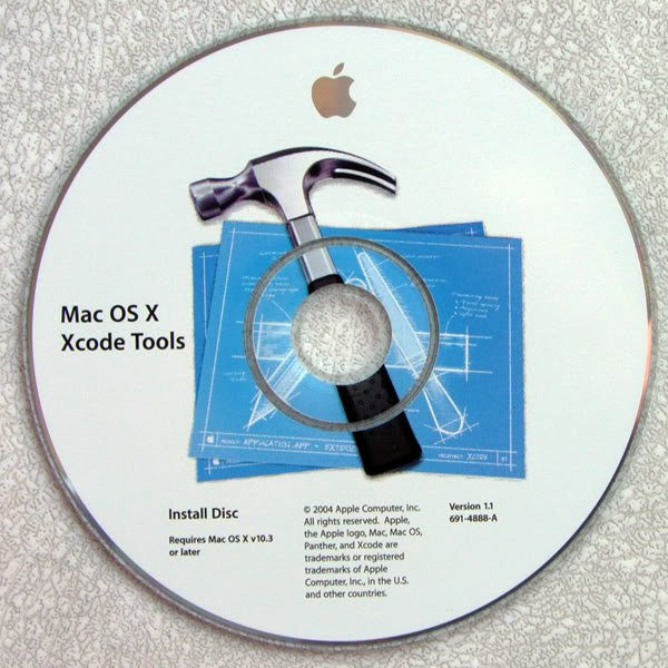 OEM APPLE MAC OS X XCODE TOOLS INSTALL DISC 691-04888-A